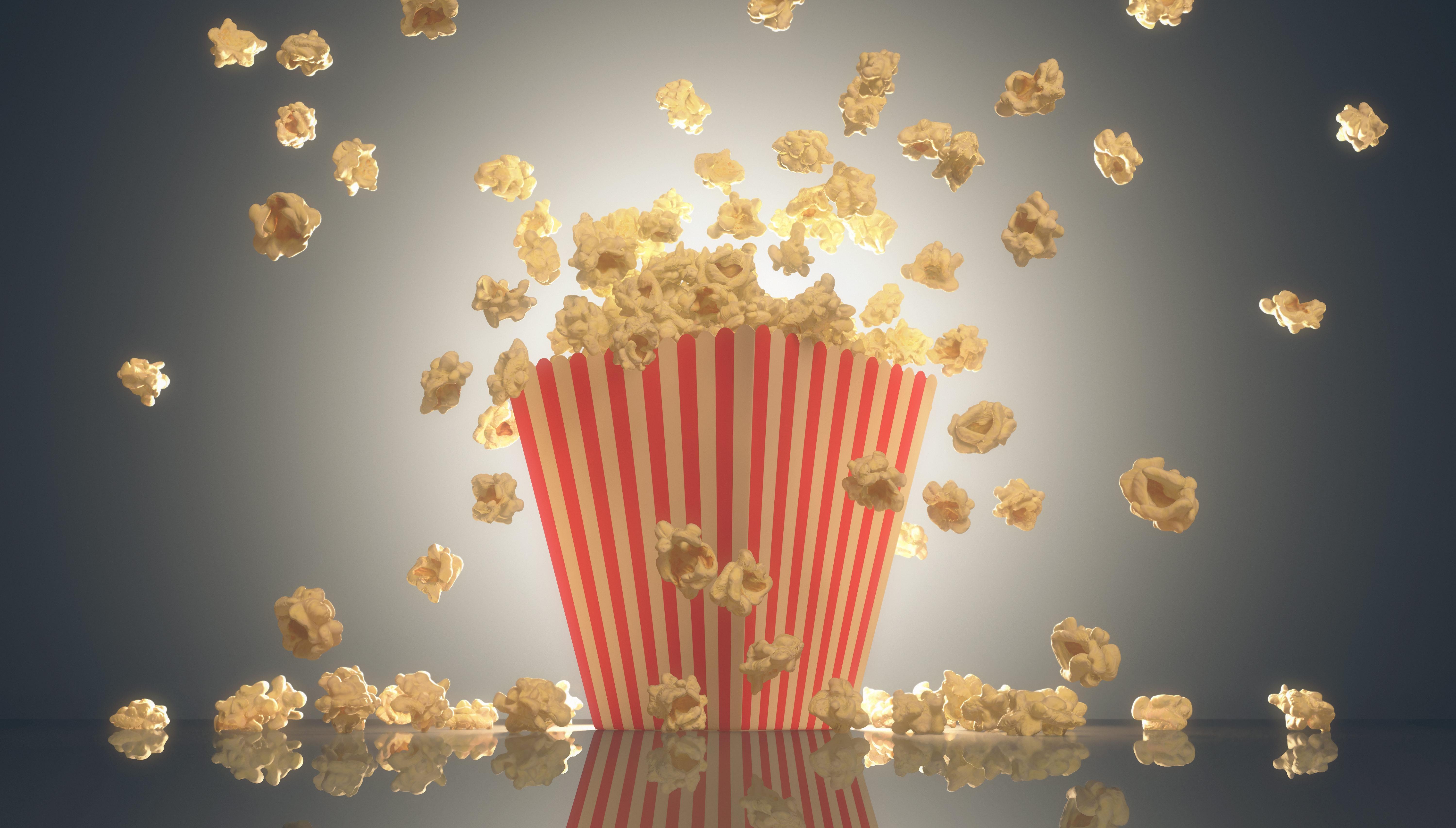 Popcorn lohnt sich auch bei manchen Büchern.