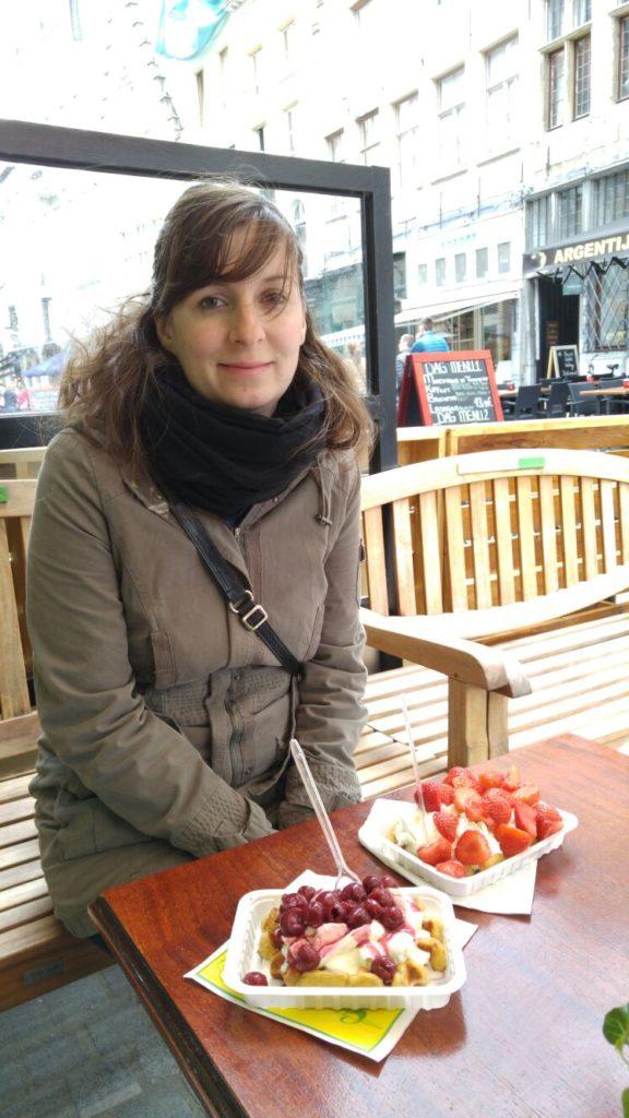 Nadine Wedel auf ihrer kulinarischen Dessert-Tour durch Europa
