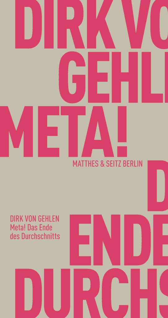 Buchcover: Matthes & Seitz Berlin