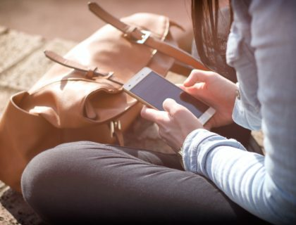 Auf dem Smartphone lesen