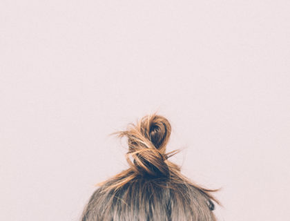 Haare einer Frau