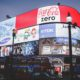 Piccadilly Circus mit Werbung