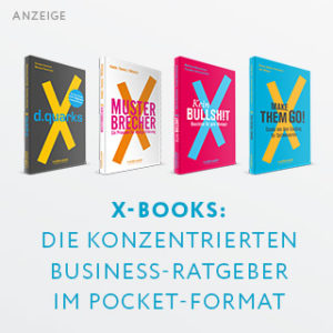 Die X-Books-Reihe aus dem Murmann Verlag