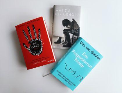 Drei Buch-Neuerscheinungen.