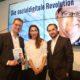 Thorsten Schäfer-Gümbel gemeinsam mit Digitalexpertin Tijen Onaran und Verleger Sven Murmann