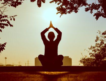 Mensch macht Yoga