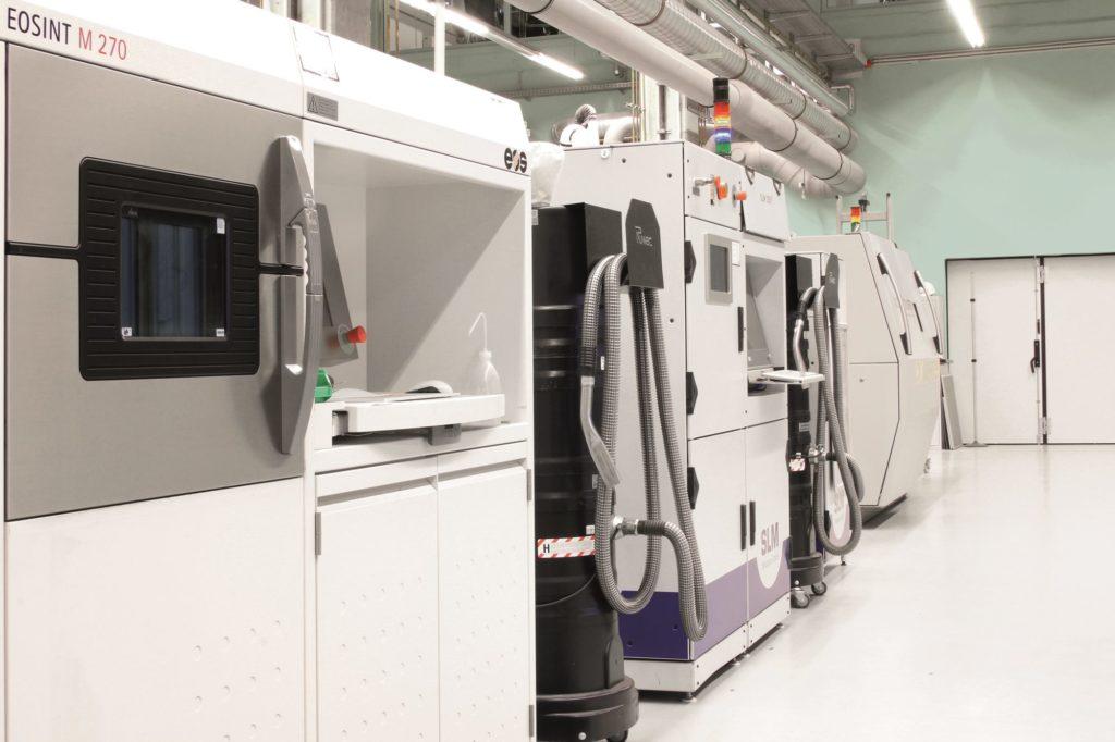 3D-Druckmaschinen am Hamburger Fraunhofer IAPT