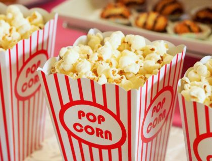 Popcorn in Tüten