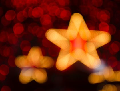 Leuchtender Stern