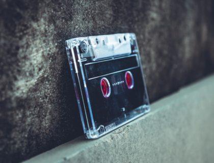 Kassette als Symbolbild für Medien für Kinder