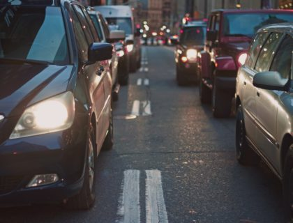Autos auf Straße