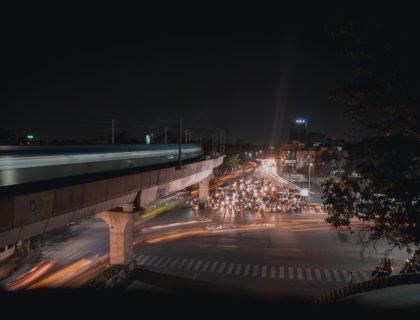 Mobilität in einer Großstadt
