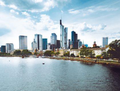 Frankfurt, Blick vom Main