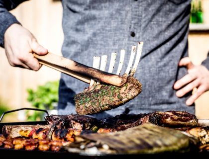 Gegrilltes Fleisch von Foodboom