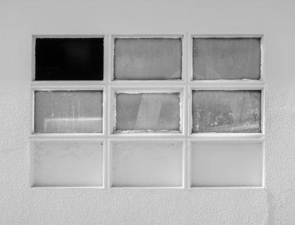Fenster, die unregelmäßig sind