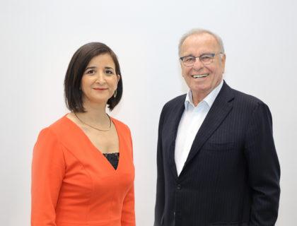 Randolf Rodenstock und Neşe Sevsay-Tegethoff