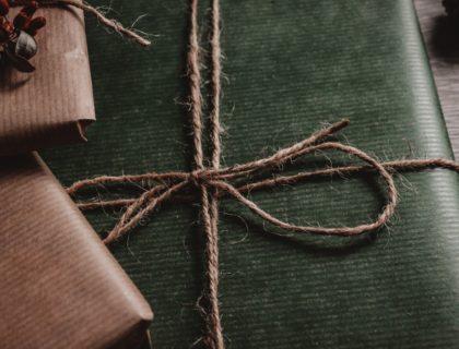 Eingepackte Geschenke