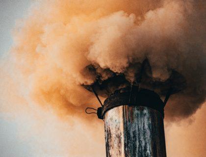 Schornstein Rauch, Verschmutzung