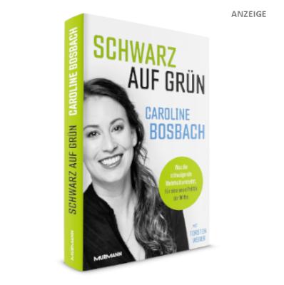 Cover Schwarz auf Grün